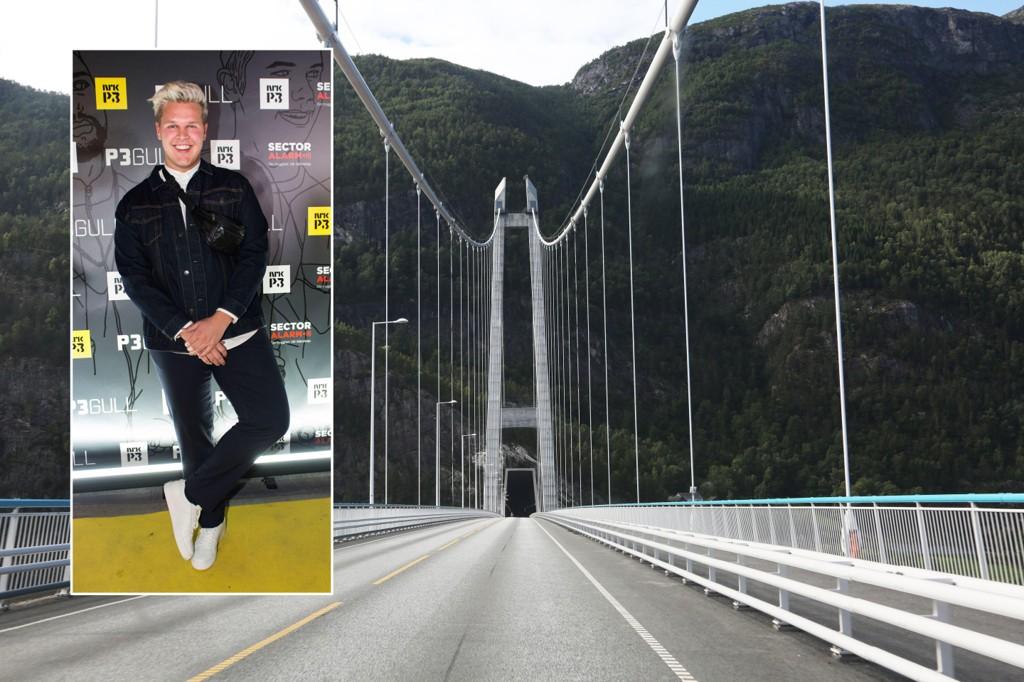 DYR I DRIFT: Vegard Harm (innfelt) tok 100.000 kroner for en Snapchat-reklame for Statens vegvesen.