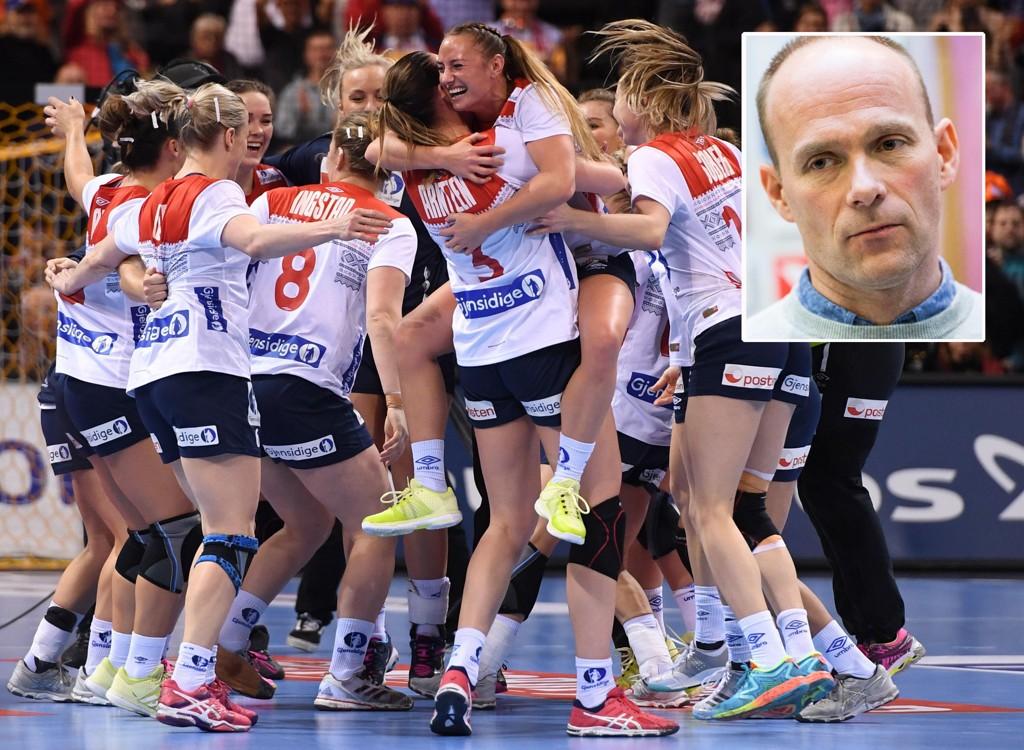 IMPONERT: De norske håndballjentene har imponert Geir Oustorp dette VMet.