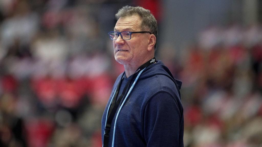 UNDERDOG: Frankrike-trener Olivier Krumbholtz mener Norge er favoritter i VM-finalen.