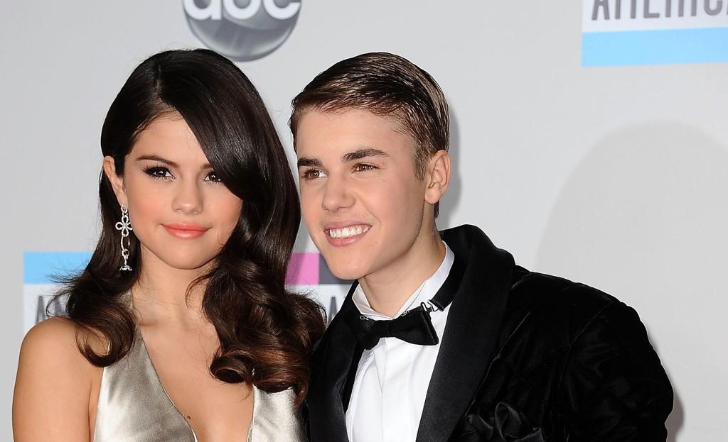 Selena Gomez og Justin Bieber i 2011.