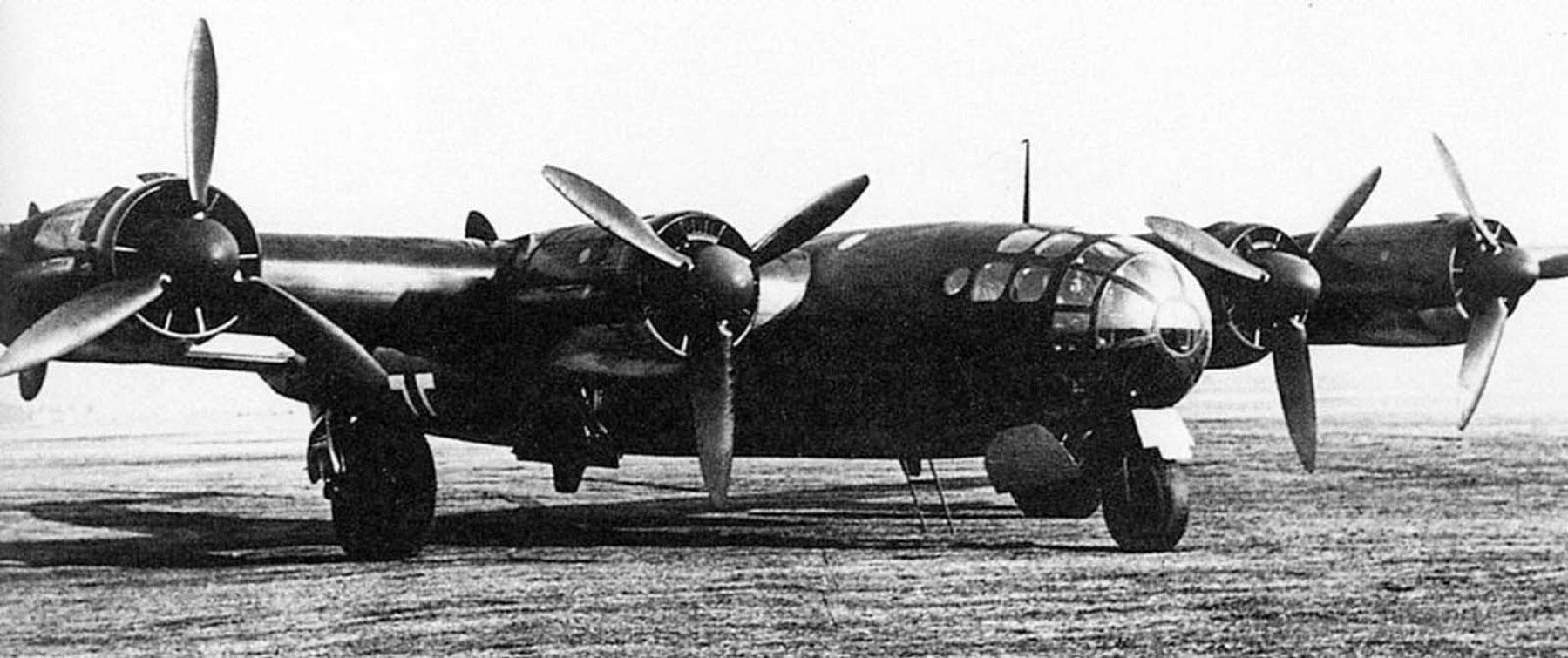 Schwerer Bomber Me 264.