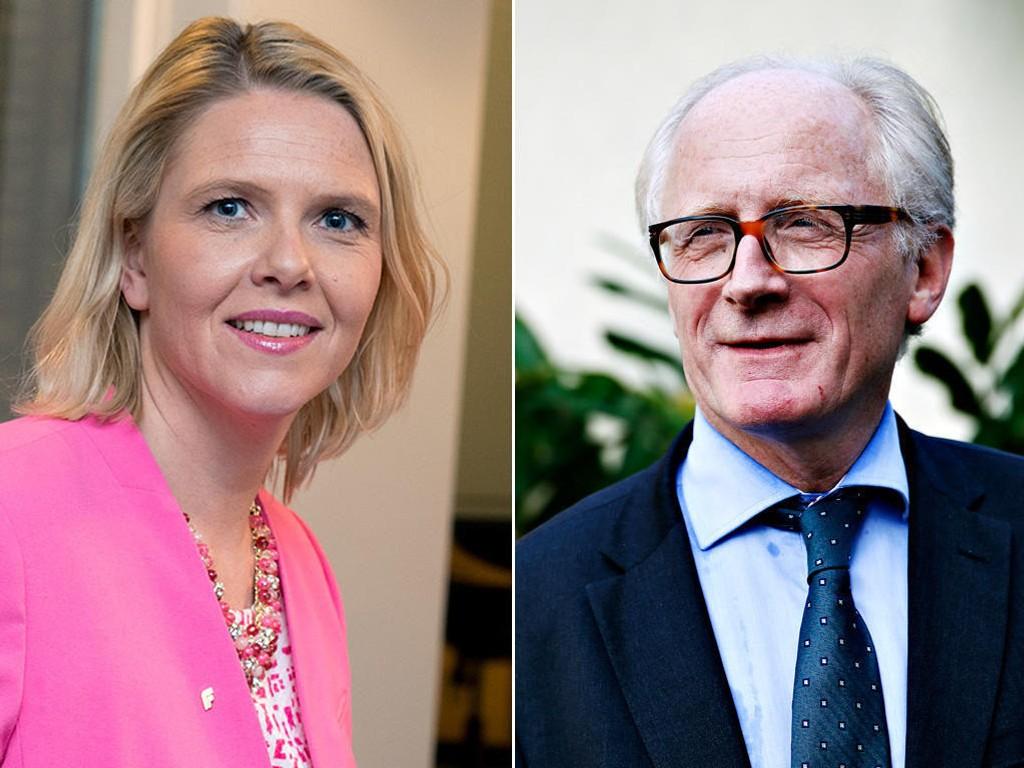 Tidligere toppdiplomat Kai Eide kritiserer er meget kritisk til Sylvi Lishaugs.