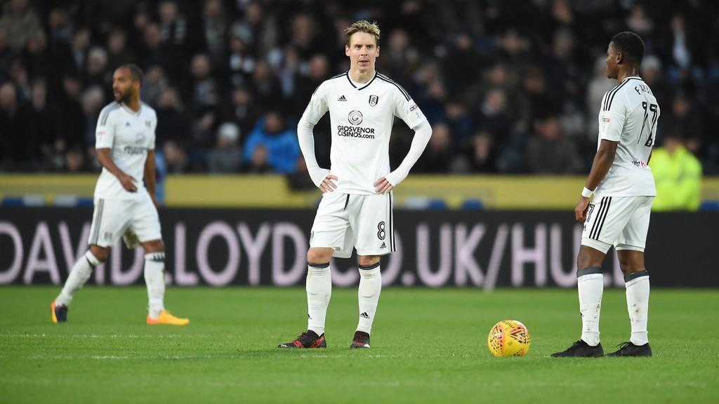 INVOLVERT: Stefan Johansen var involvert da Fulham kom tilbake mot Hull.