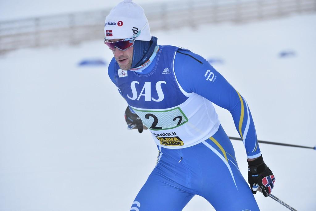 TILBAKE: Petter Northug var tilbake i skisporet søndag.