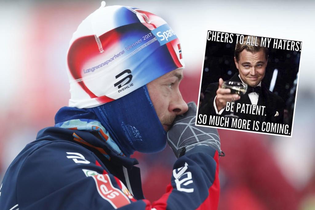 INSTAGRAM: Petter Northug har kommentert tilbudet om verdenscupplass med et nytt bilde på sin Instagram-konto.