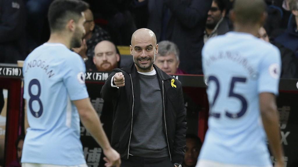 KRITISK: Manchester City-manager Pep Guardiola er ikke glad i det tette kampprogrammet i romjula i England.