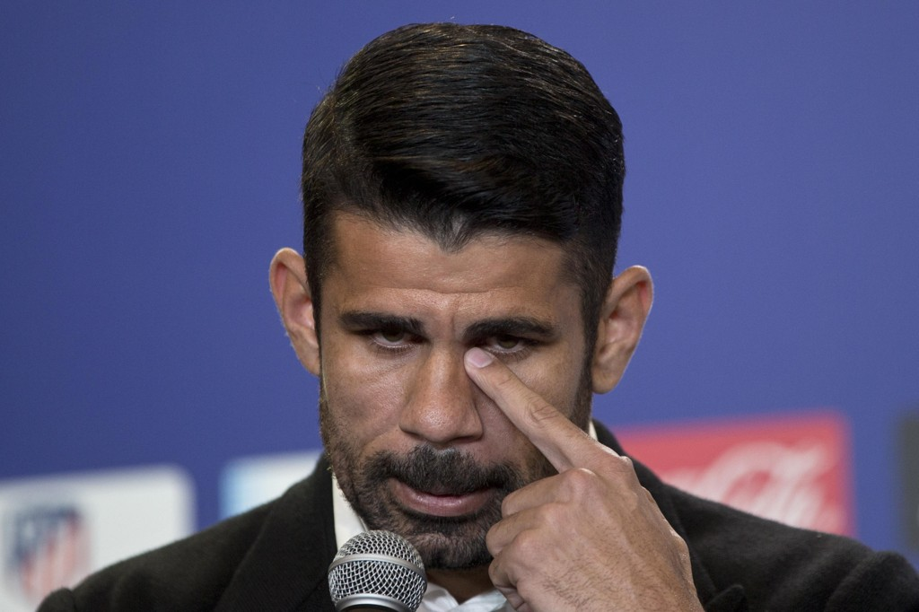 KLAR: Diego Costa er klar for spill i Atlético Madrid.