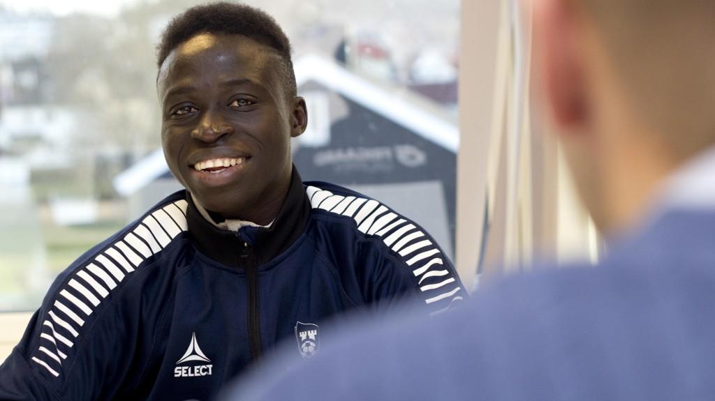 TIL BELGIA: Krepin Diatta er klar for belgiske Club Brugge.