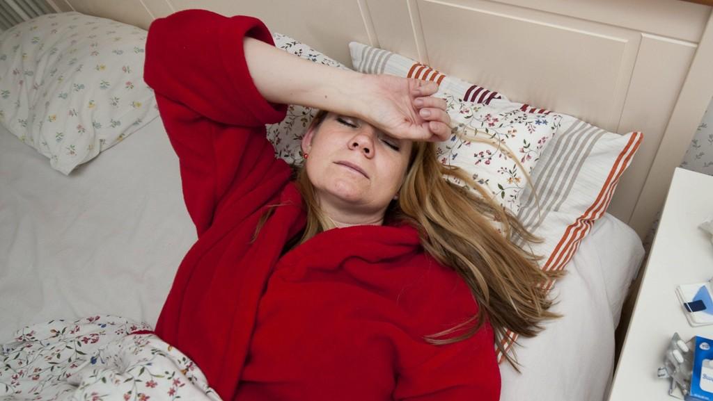 UTSLÅTT: Flere må regne med å bli sengeliggende av influensa de neste ukene.