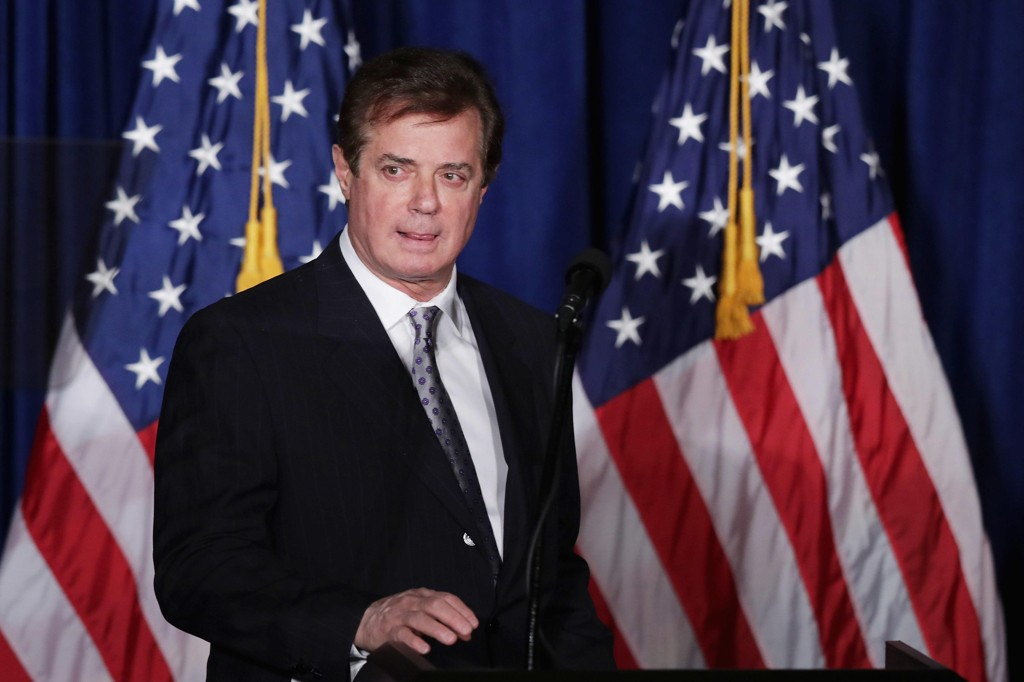 PAUL MANAFORT er tiltalt av FBI.