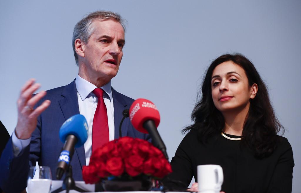 UKLAR POLITIKK OG SKATTESKJERPELSER: Partileder Jonas Gahr Støre lanserte forslaget om 15 milliarder i skatteøkninger, og nestleder Hadia Tajik ledet programarbeidet før valget.