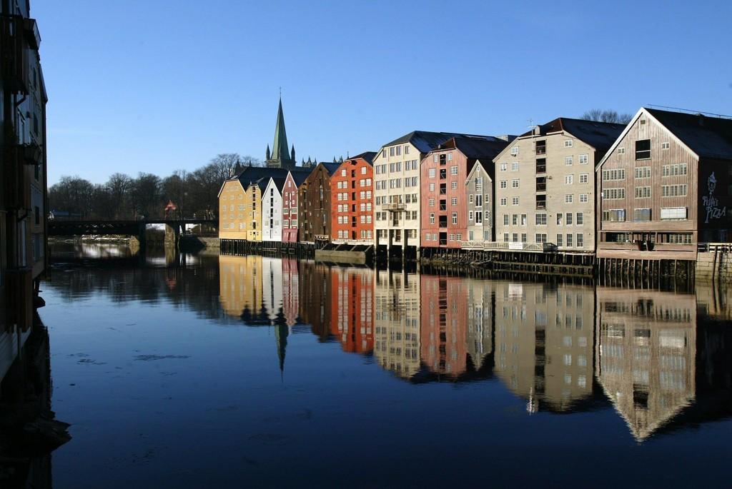 Illustrasjonsfoto: Bryggene ved Nidelva i Trondheim.