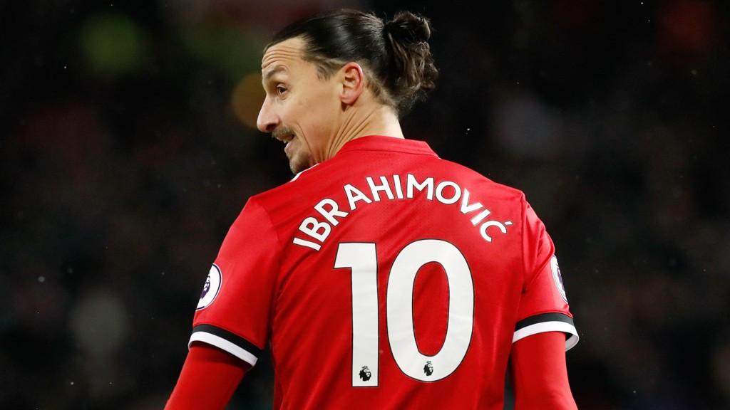 PÅ VEI VEKK?: Zlatan Ibrahimovic kan være ferdig i Manchester United hevder anerkjent journalist.