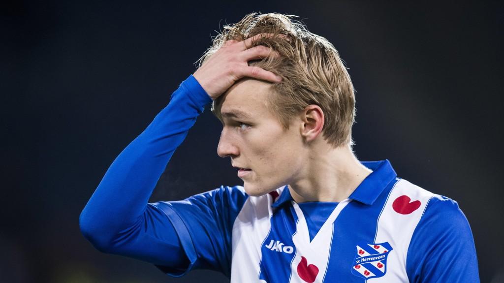 SNART KLAR: Martin Ødegaard friskmelder seg selv.