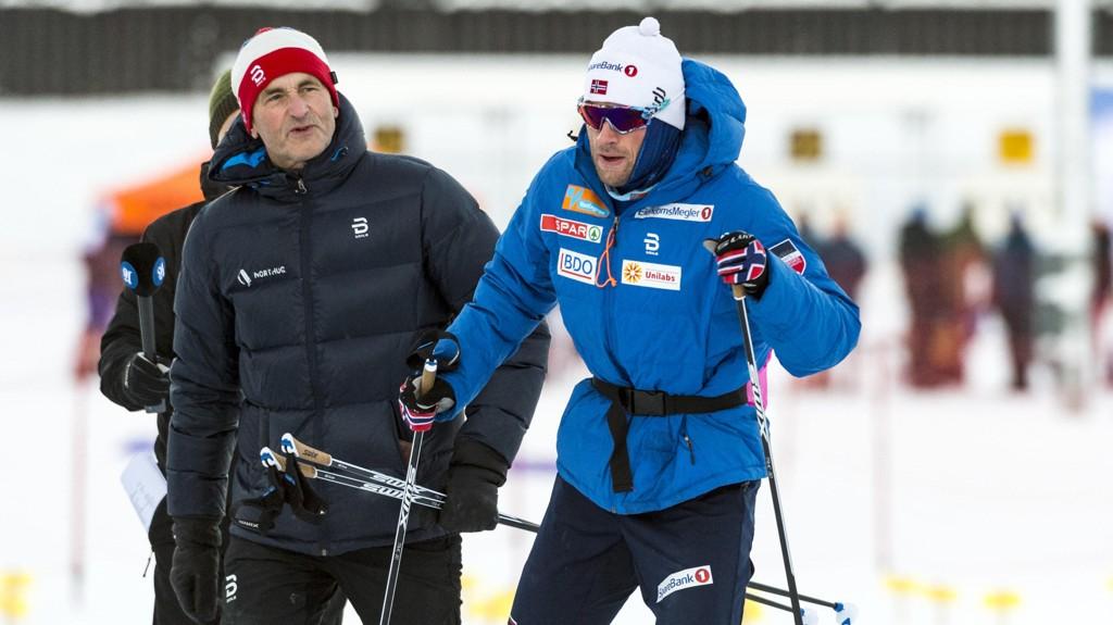 TROR IKKE PÅ OL: John Northug mener Petters håp om å komme seg til OL røk da sønnen ikke ble tatt ut til Tour de Ski.