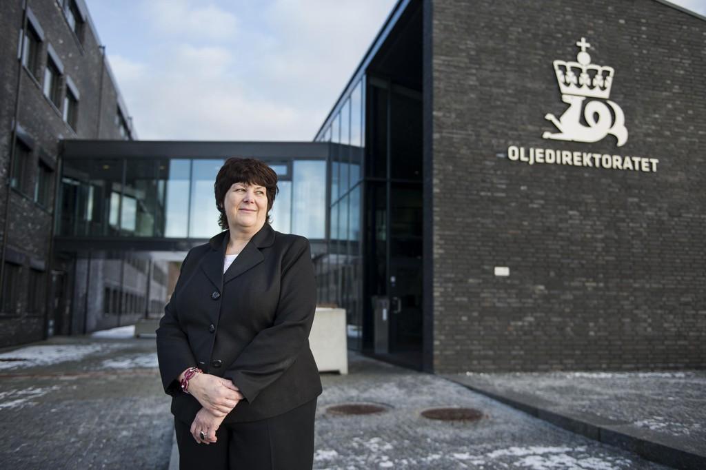 Oljedirektør Bente Nyland legger fram investerings- og produksjonsprognoser samt resultater av leting og produksjon i 2017.