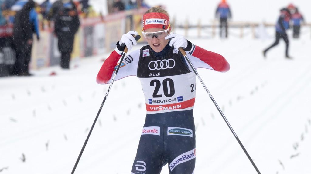 STERK: Kathrine Rolsted Harsem var raskest av samtlige løpere i torsdagens prolog.