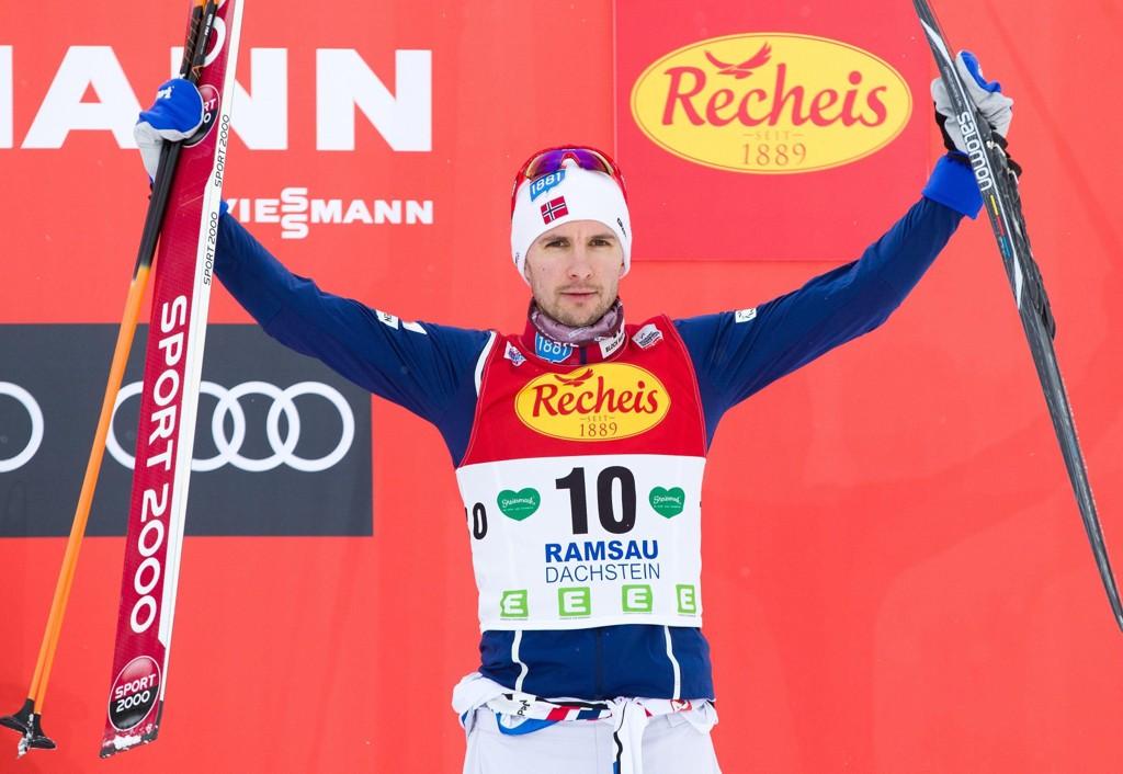 OL-HÅP: Jan Schmid har vært i god form i vinter.