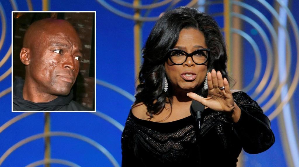 SEAL KRITISERER OPRAH: Artisten Seal kritiserer Oprah Winfrey etter hennes #metoo-tale. Seal mener Oprah har vært en del av problemet som nå adresseres i kampanjen.