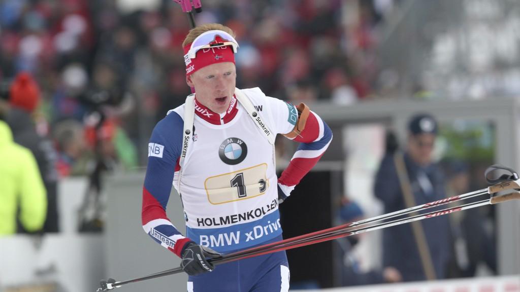 Johannes Thingnes Bø går som vanlig ankeretappen for Norge.