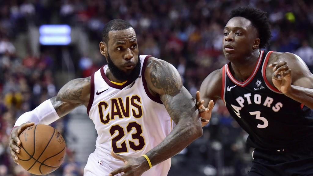 FIKK JULING. Cavaliers gikk på sitt styggeste tap for sesongen mot Toronto Raptors.