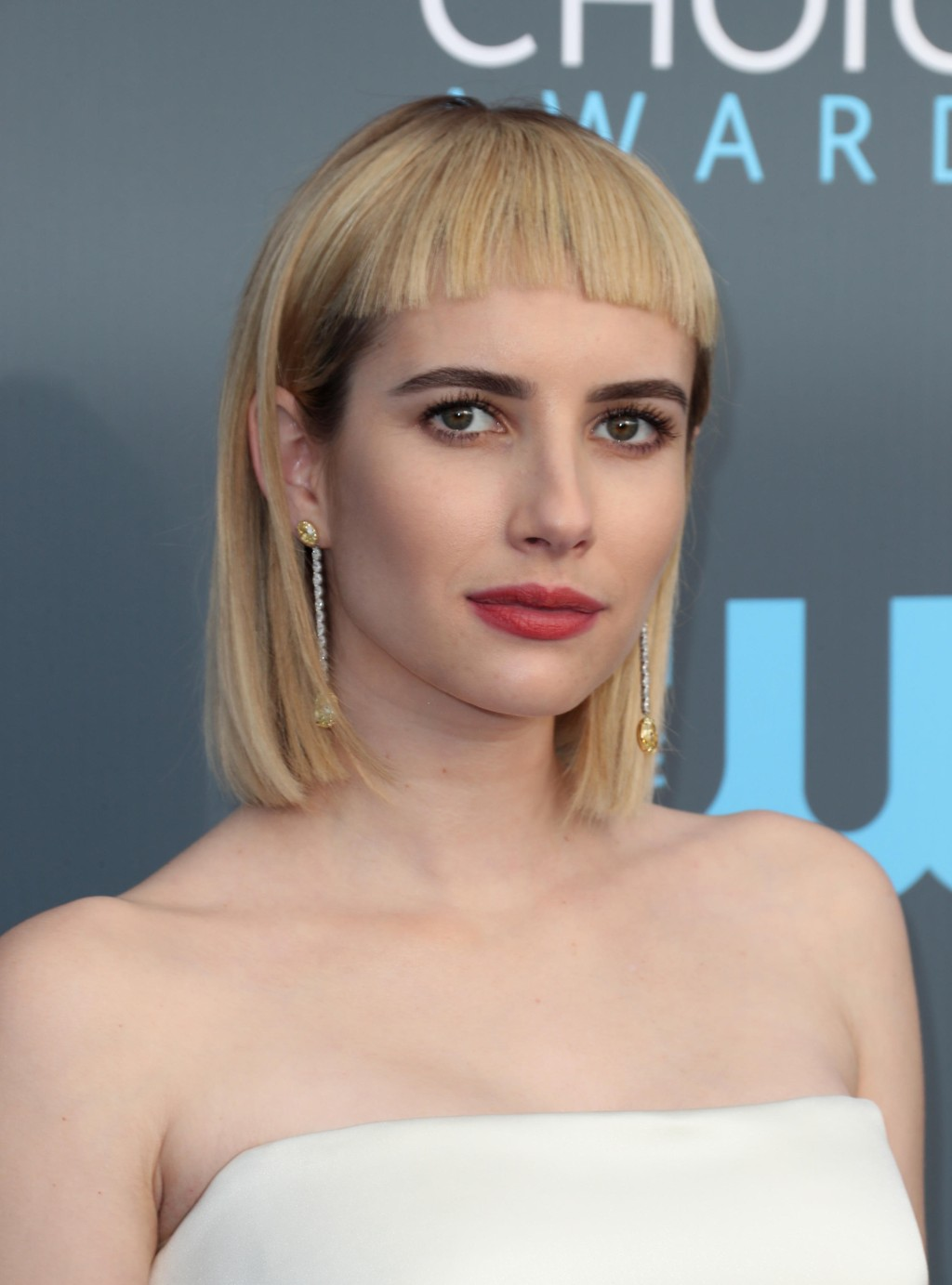 Emma Roberts under årets Critics' Choice Awards i Los Angeles.