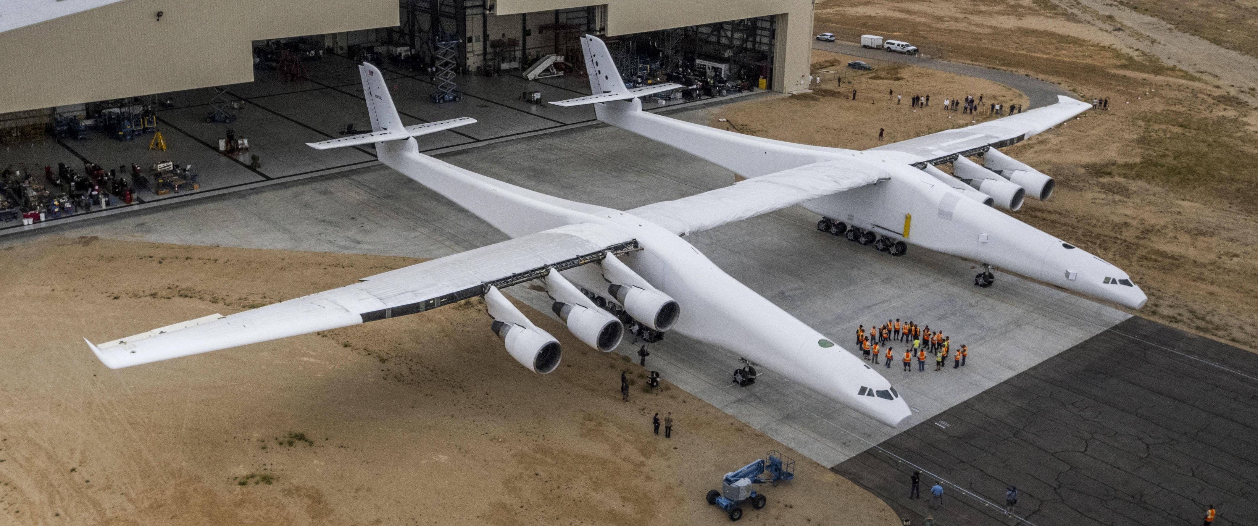 SJELDEN FUGL: Verdens største og mest spesielle fly har nylig kommet ut av redet.