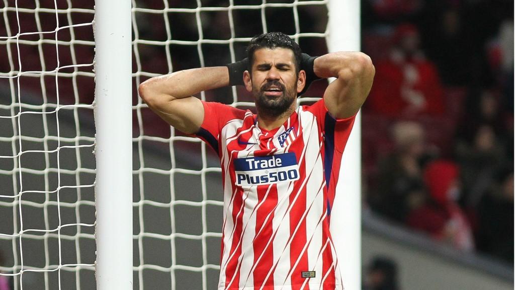 SCORET OG UTVIST: Det var et av de mest Diego Costaske øyeblikk, da han scoret og ble utvist sist helg.