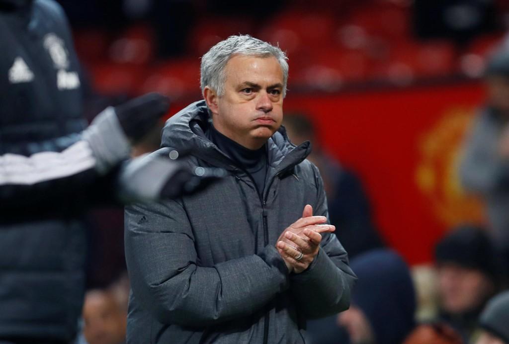 SNAKKET OM SANCHEZ: Manchester Uniteds José Mourinho.