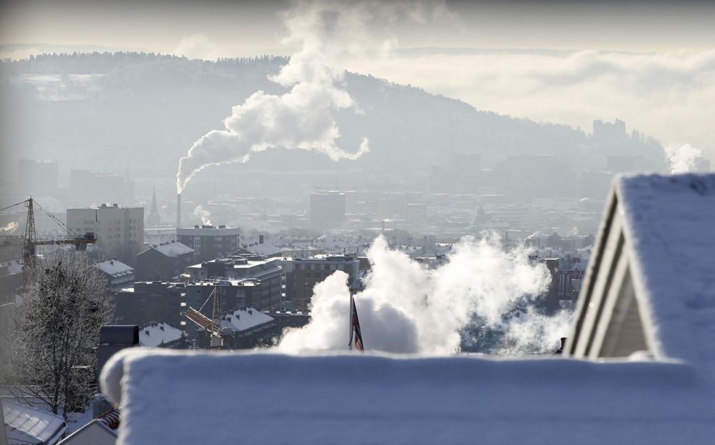 FRYKTER SIBIRKULDE I NORGE: Langtidsvarselet viser at værsystemer kan føre til en transport av iskald luft fra Sibir til Norge i tiden fremover.