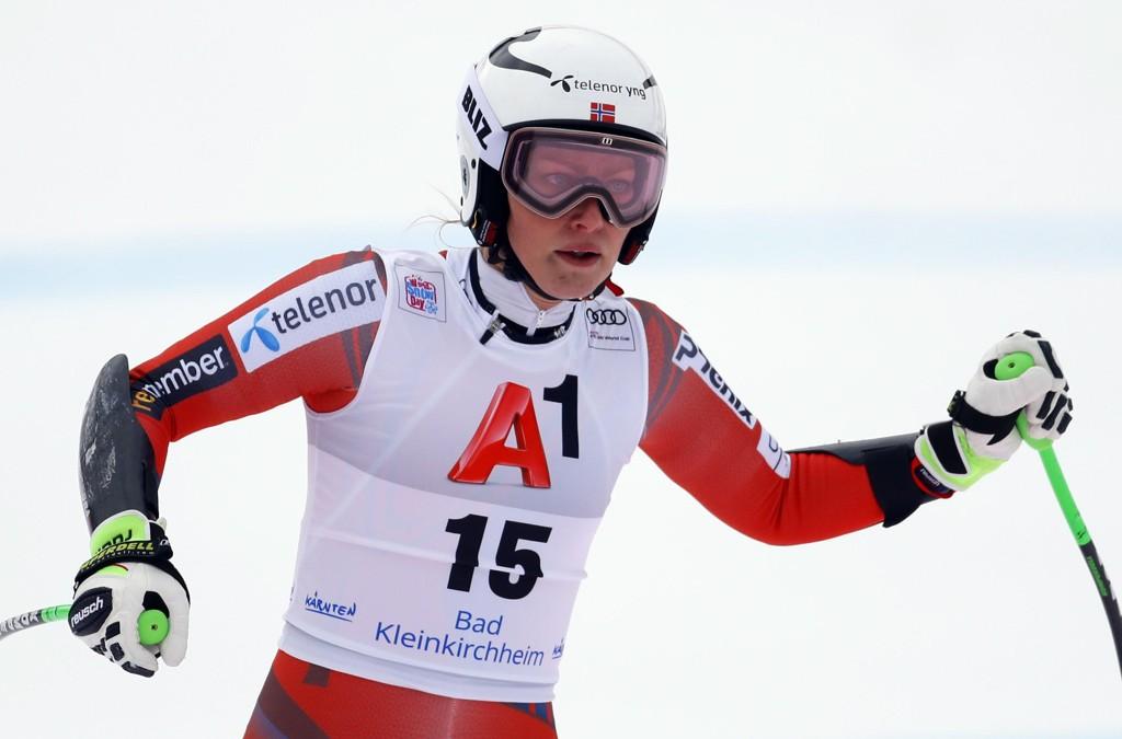 UTENFOR TOPP TI:Ragnhild Mowinckel klarte ikke å bli blant de ti beste i lørdagens super-G-renn i Bad Kleinkirchheim.