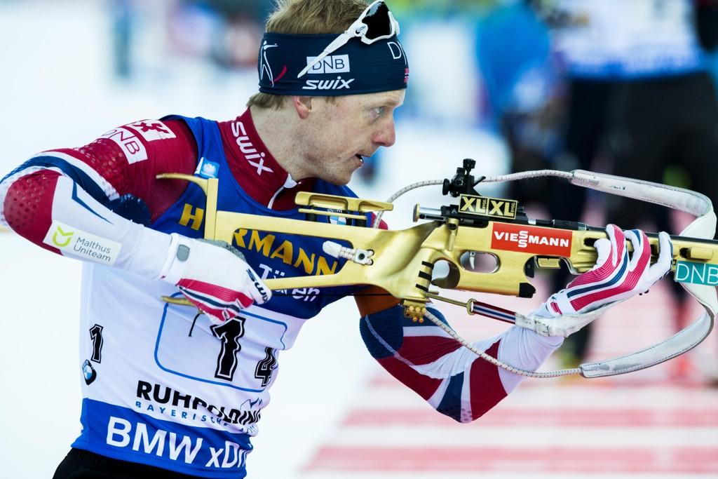 SEIER: Johannes Thingens Bø vant 15-kilomteren i Ruhpolding.