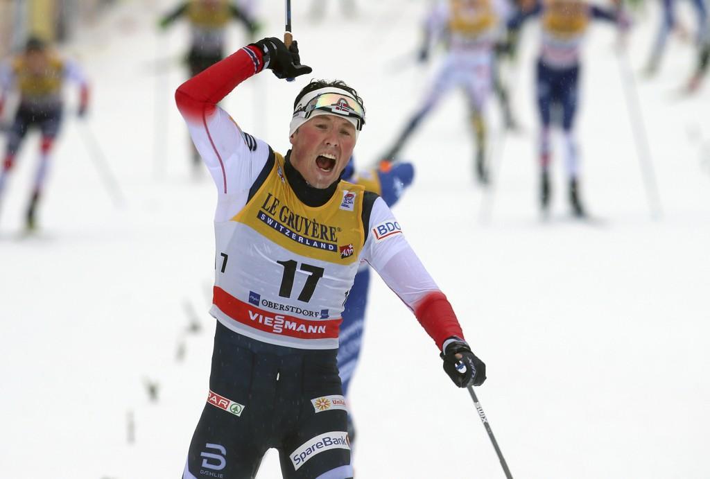 emil iversen klassisk sprint seier