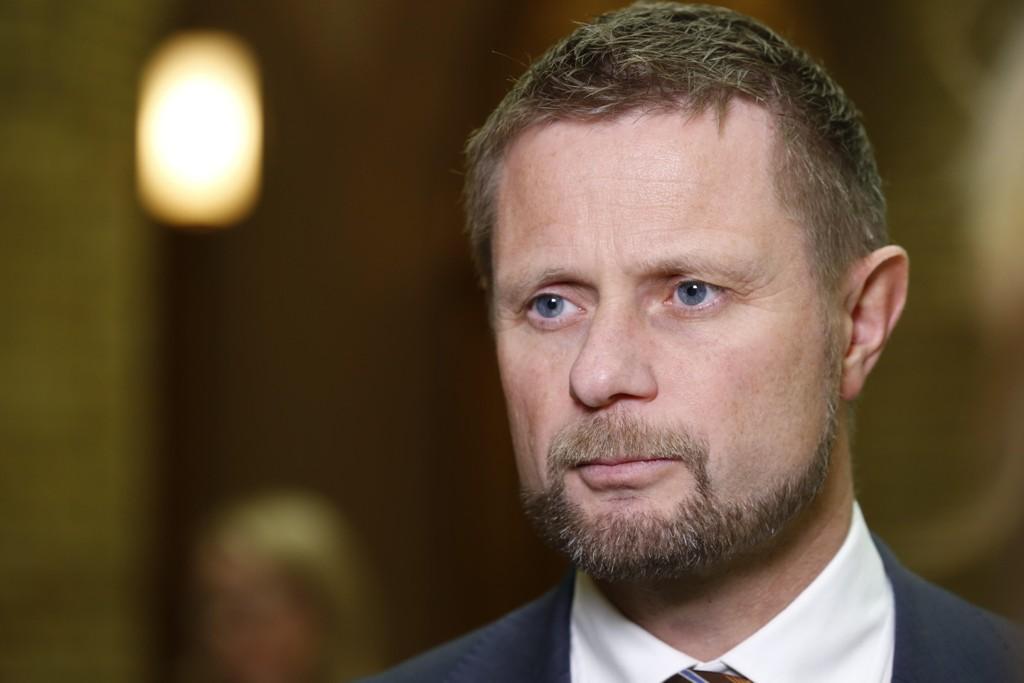 Helse- og omsorgsminister Bent Høie holdt tirsdag den årlige sykehustalen (arkivfoto).