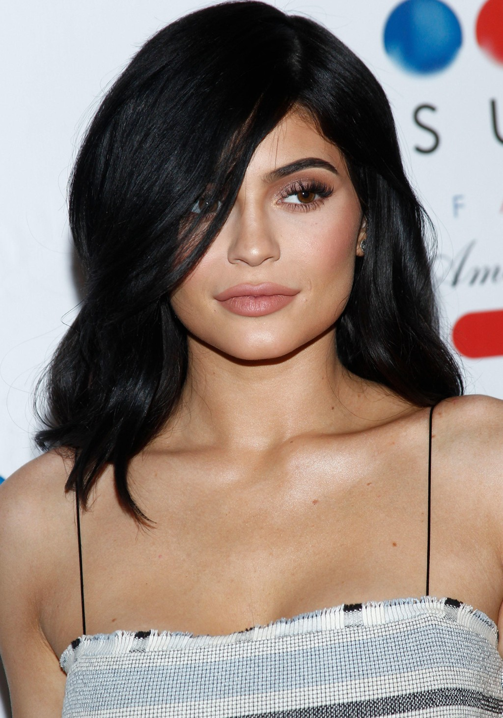Kylie Jenner under Sugar Factory at Fashion Show i Las Vegas.