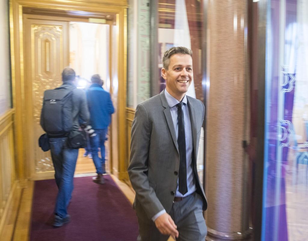 INGEN BØNN: Kristelig Folkeparti og partileder Knut Arild Hareide setter bom for regjeringens ønske om et nytt tak på eiendomsskatten.