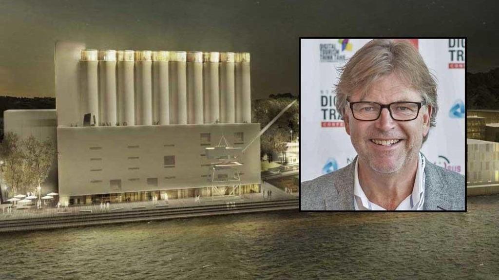 AMBISØST: Kunstsilo-direktør Reidar Fuglestad mener at prosjektet er spektakulært med store muligheter.