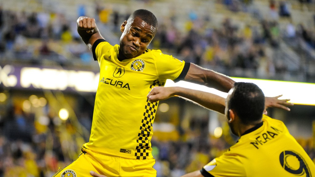 CALIFORNIA, HERE WE COME!: Ola Kamara er klar for Los Angeles Galaxy.