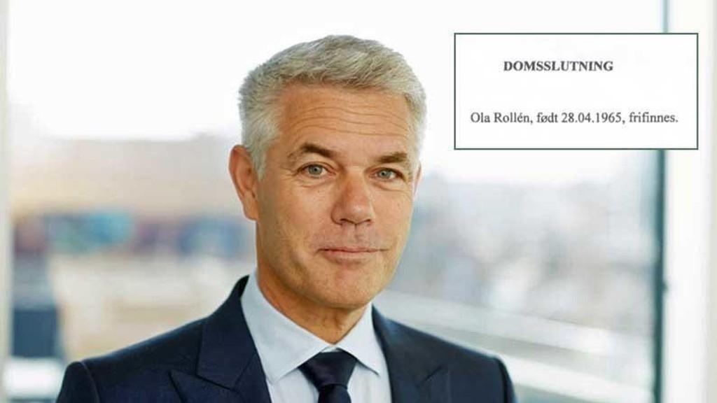 BLANKT FRIFUNNET: Økokrim har gått på et nytt prestisjenederlag etter frifinnelsen av den svenske milliardæren Ola Rollén for fjorten dager siden. I dag bestemte Økokrim seg for å anke saken.