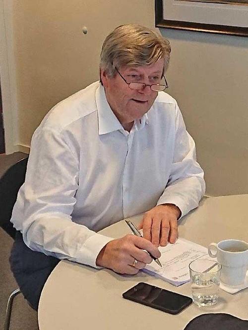 STYREFORMANN I CULTIVA: Tidligere Høyre-statsråd Ansgar Gabrielsen.