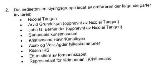 HÅNDPLUKKET: Både den nylig avgått ordføreren, Arvid Grundekjøn, og tidligere Høyre-statsråd John G. Bernander ble oppnevnt av Nicolai Tangen.
