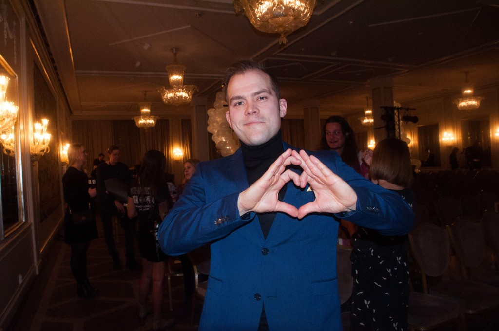 Peter Kihlman aka Pappahjerte vant juryprisen under årets Vixen Influencer Awards.
