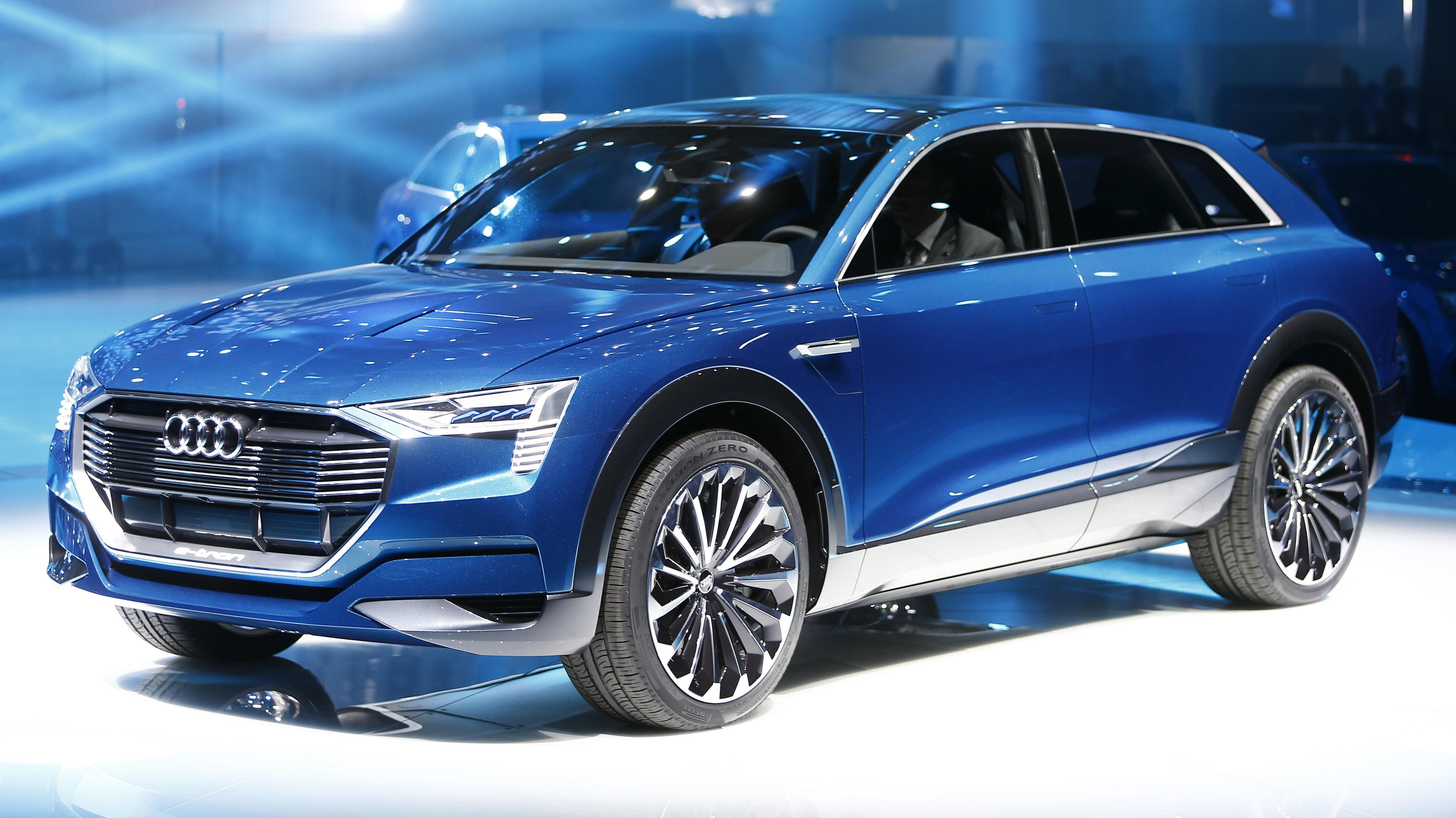 Audis kommende elbil Audi e-Tron Quattro skal bli den første langtrekkende elbilen som skal nyttiggjøre seg ladenettverket Ionity.