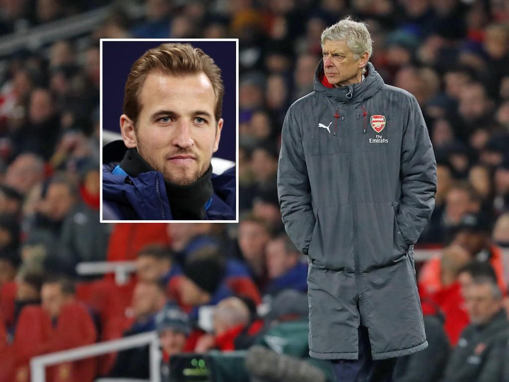 UTLIGNER SPURS-FORDELEN? Manager Arsène Wenger og Arsenal har i flere sesonger manglet en spiss som scorer like ofte som Tottenhams Harry Kane (innfelt).