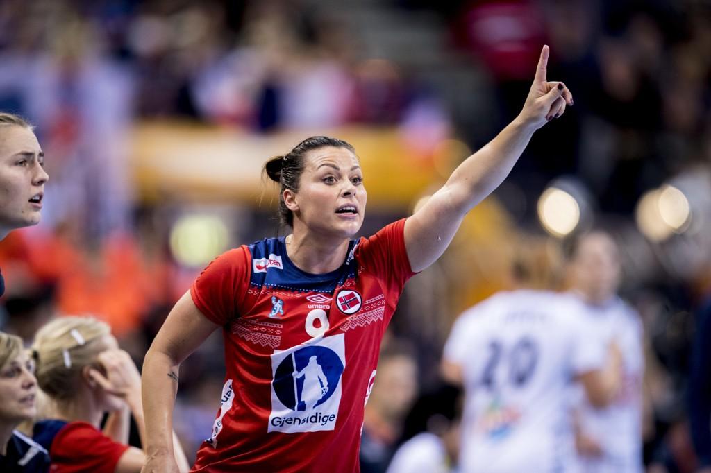 VERDENS BESTE. Nora Mørk er kåret til verdens beste kvinnelige håndballspiller av Handball-Planet.