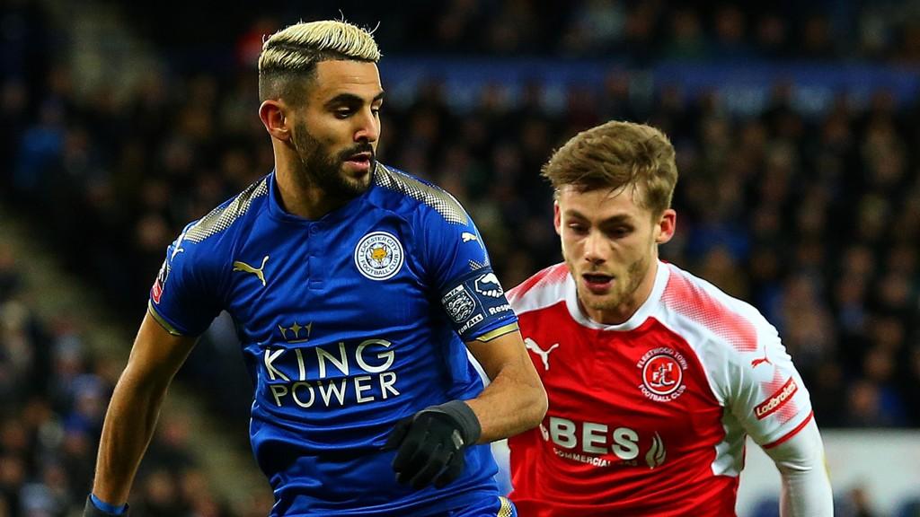 VIL BORT: Riyad Mahrez sies å ønske seg bort fra Leicester.