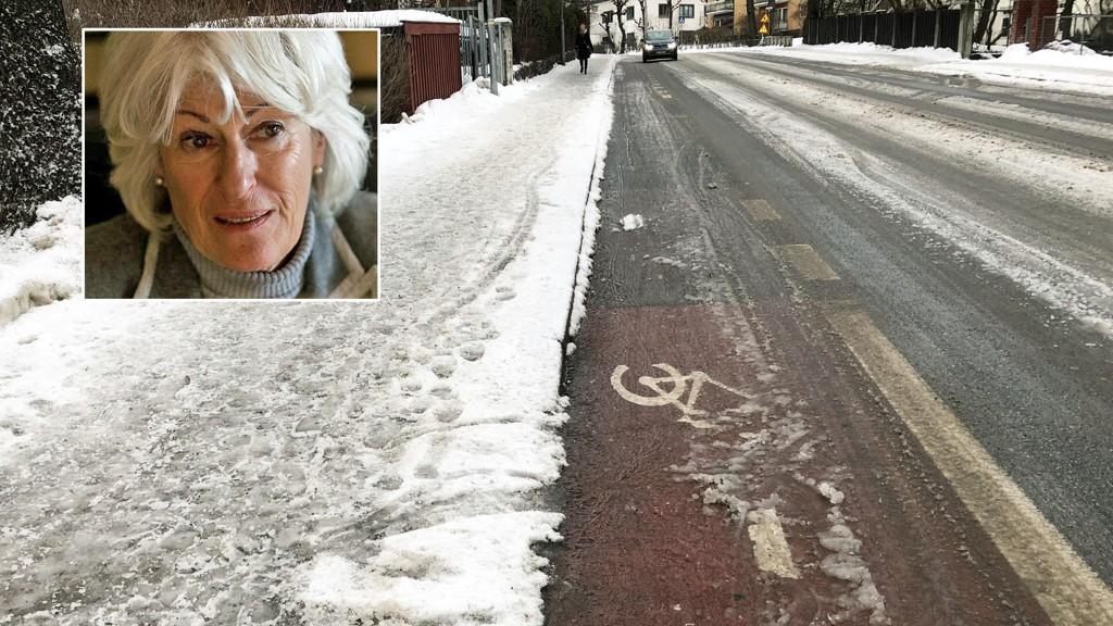 Mona Levin raser mot forskjellsbehandlingen mellom gående og syklister, og maner til opprør på vegne av gående i hovedstaden.