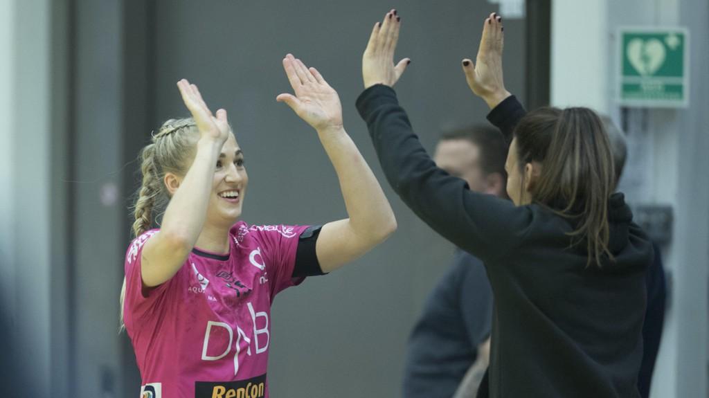 SEIER: Linn Jørum Sulland og Vipers Kristiansand gikk videre i EHF-cupen lørdag.