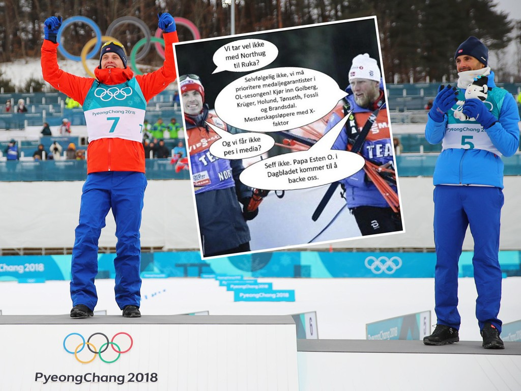 SKAPTE OVERSKRIFTER: Instagram-bildet til Petter Northug skapte store overskrifter tidligere i vinter.