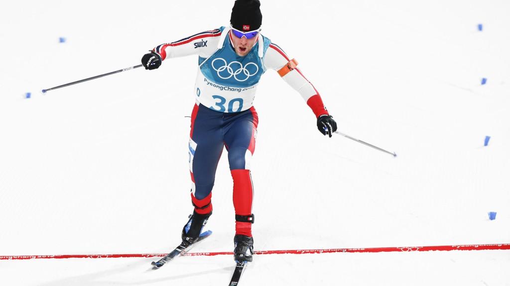 NÆRE: Erlend Bjøntegaard var bare 17 sekunder bak gullvinneren Arnd Pfeiffer.